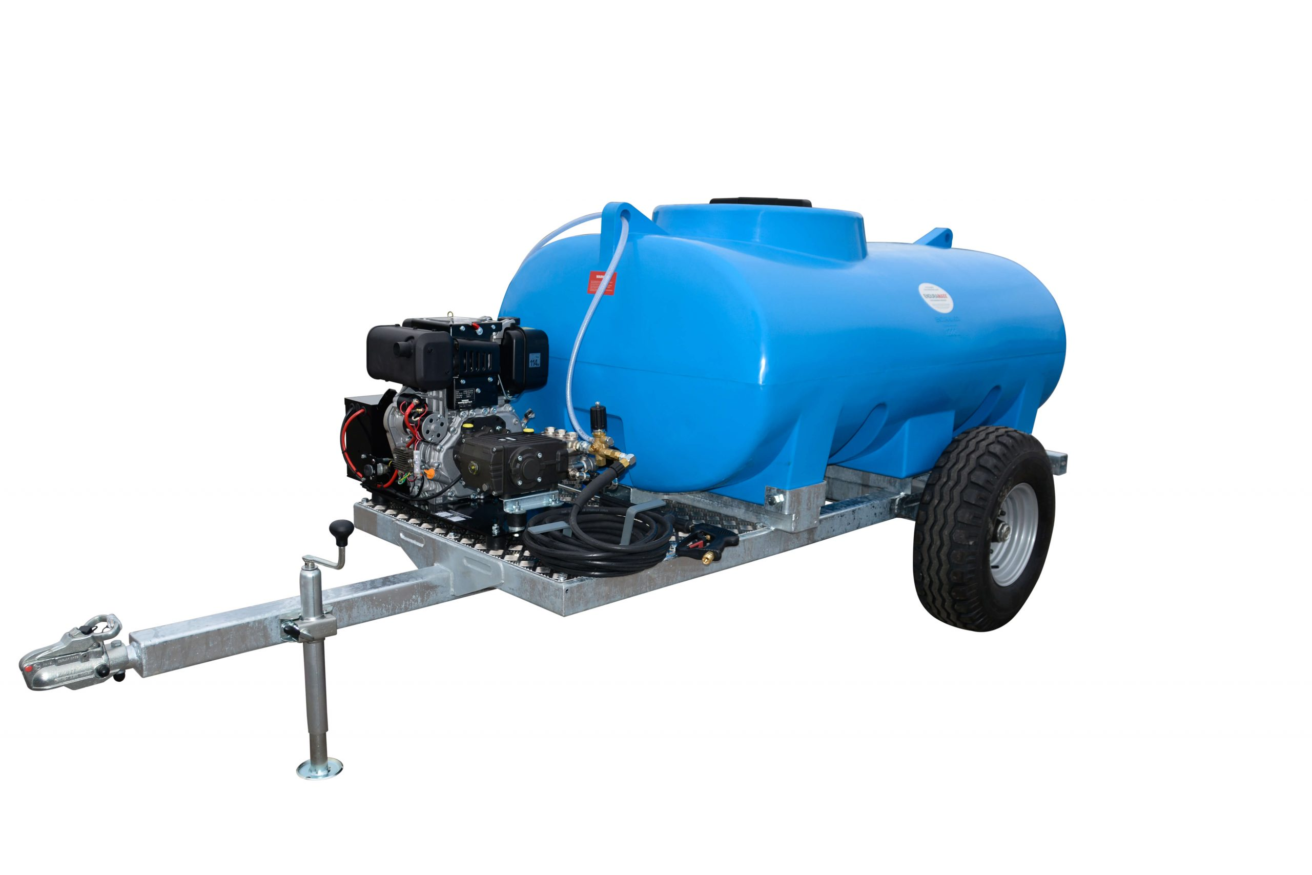 2,000 Litre Site Tow Pressure Washer Bowser