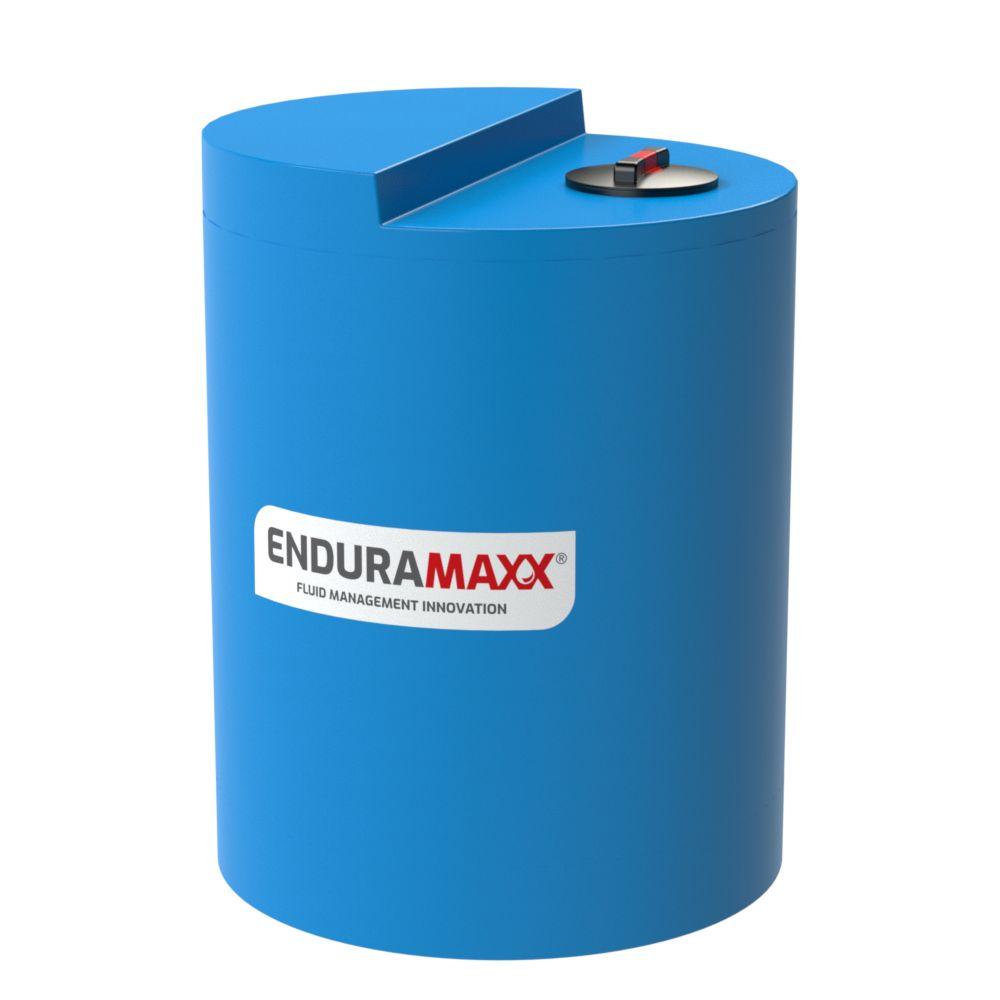 800 litre industrial tank - blue