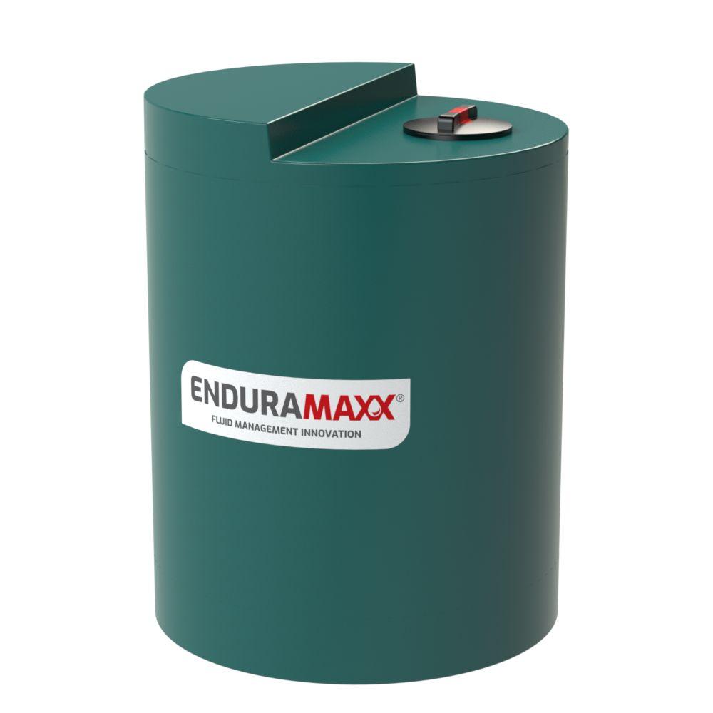 800 litre industrial tank - dark green