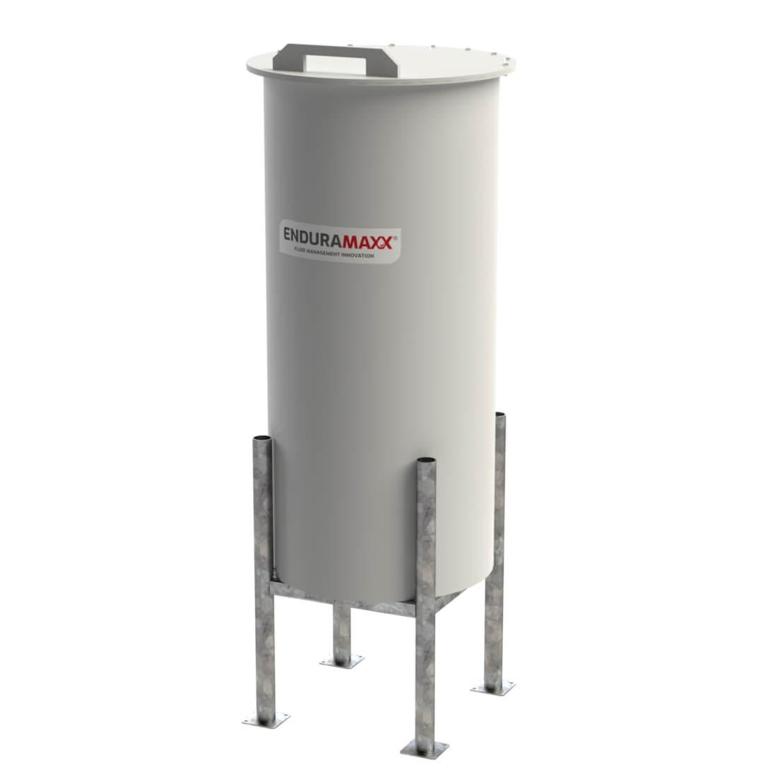 Enduramaxx-172707-500-litre-Cone-Batch-Tank-Hinged-Lid-With-Frame