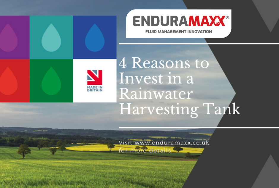 4 Reasons to Invest in a Rainwater Harvesting Tank