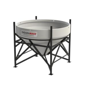 1,500 Litre 45° Open Top Cone Tank