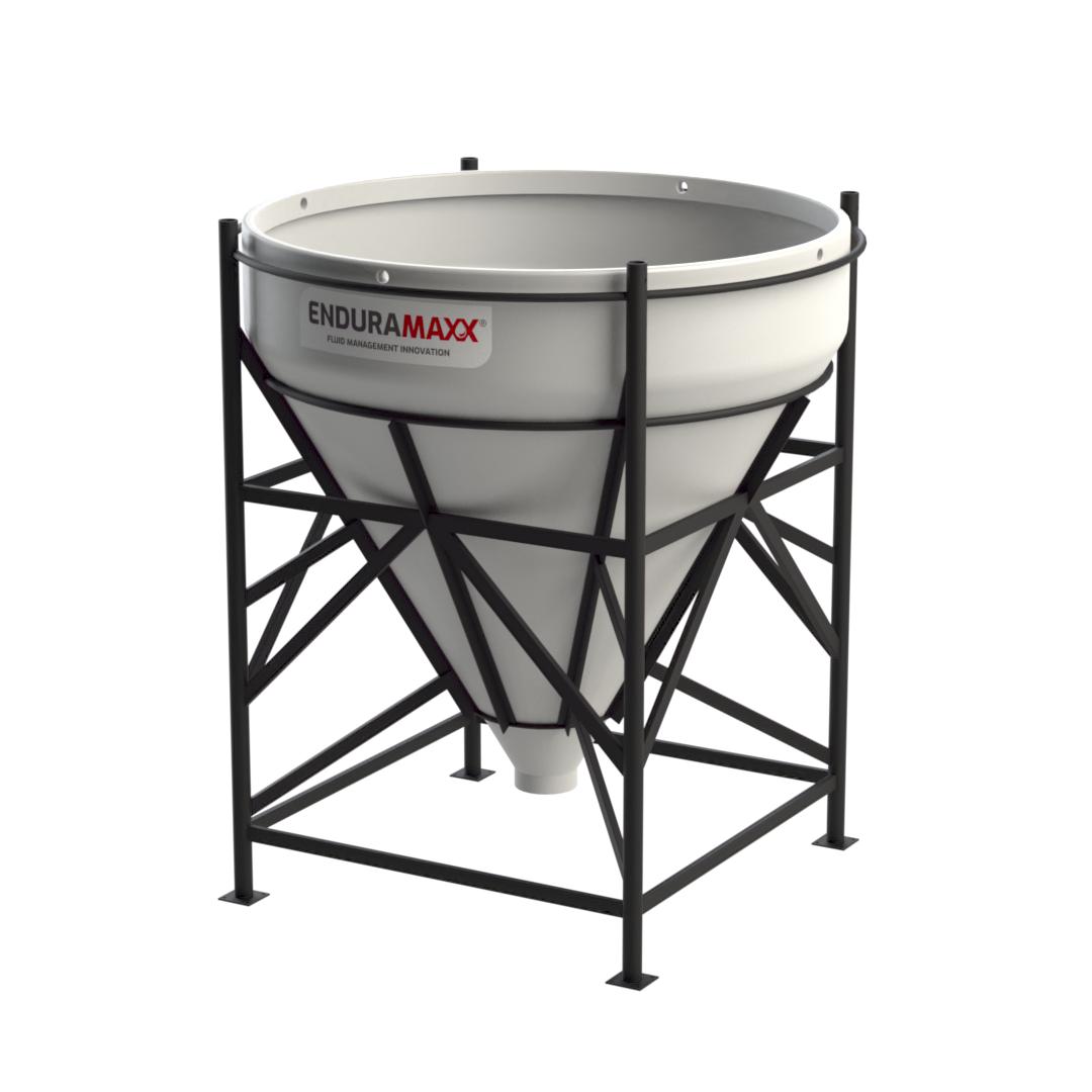 2,000 Litre 60° Open Top Cone Tank