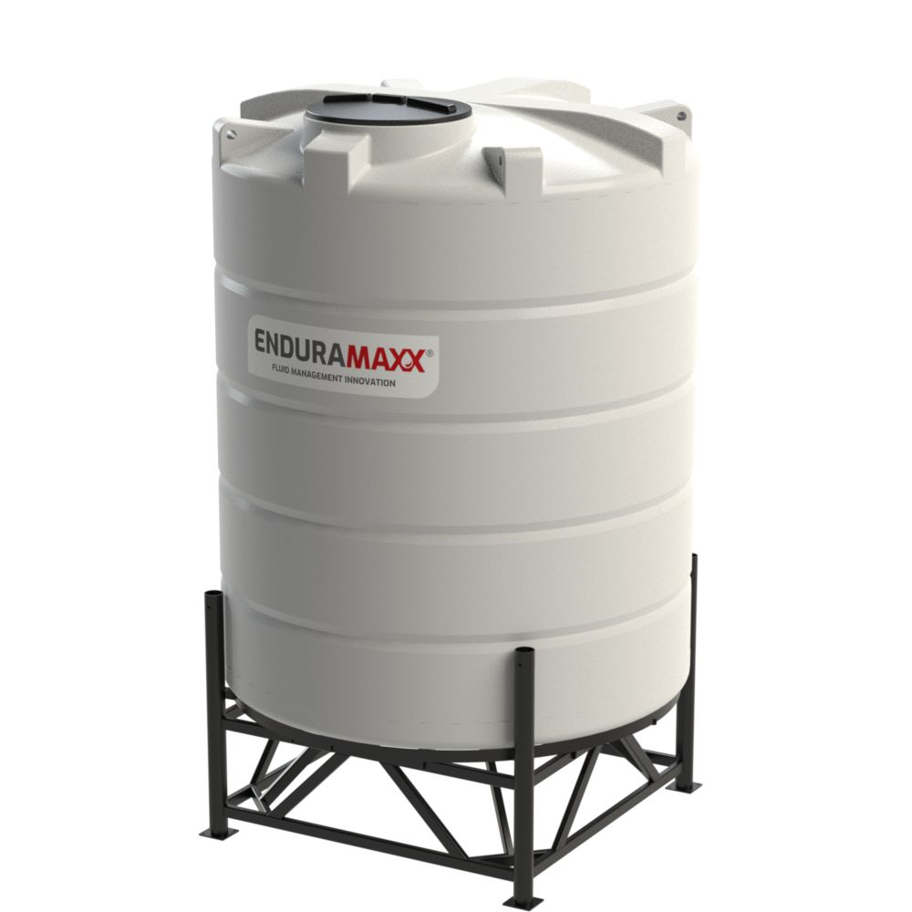 10,000 Litre 15° Closed Top Cone Tank