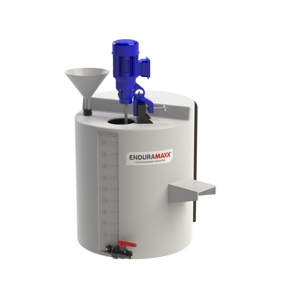 Geared Slow Speed Industrial Mixer