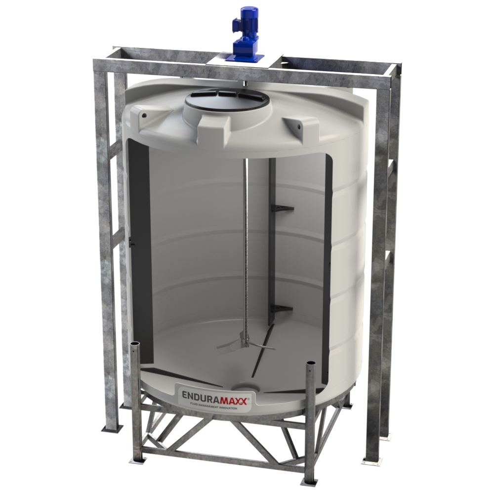 10000 Litre Conical Mixer Tank (2)