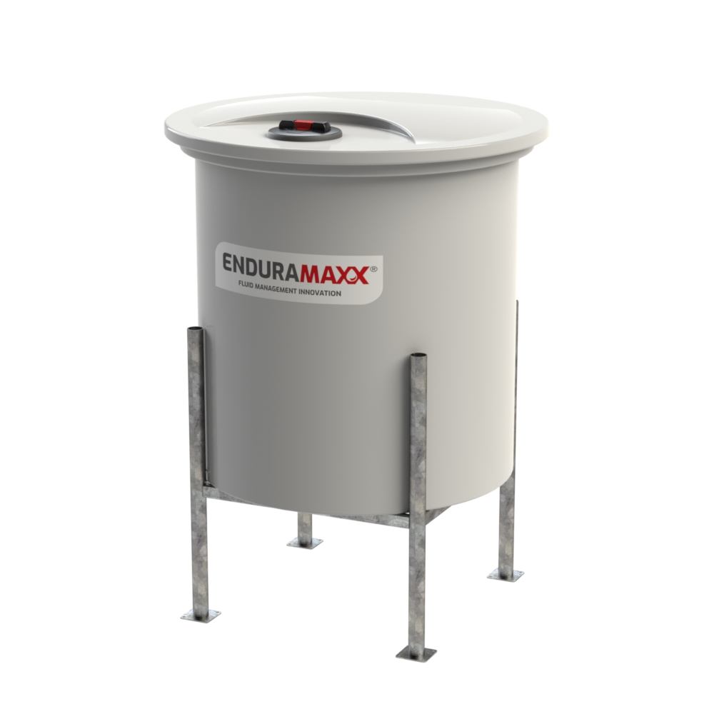 1200 Litre Cone Batch Mixer Tank - Removable Lid