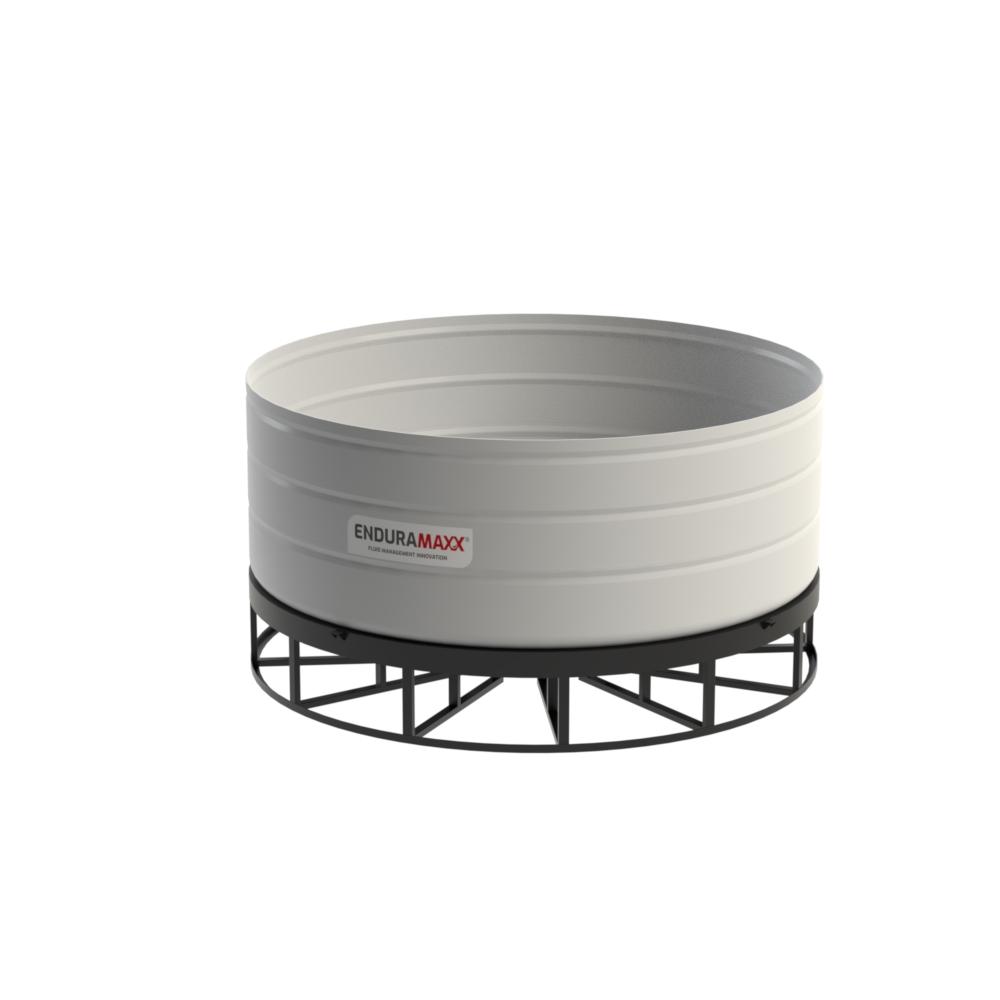 10,000 Litre 5° Open Top Cone Tank