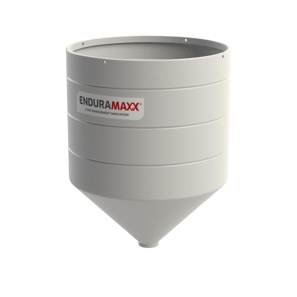 4000 Litre Open Top Cone Tank - 45° Cone Natural