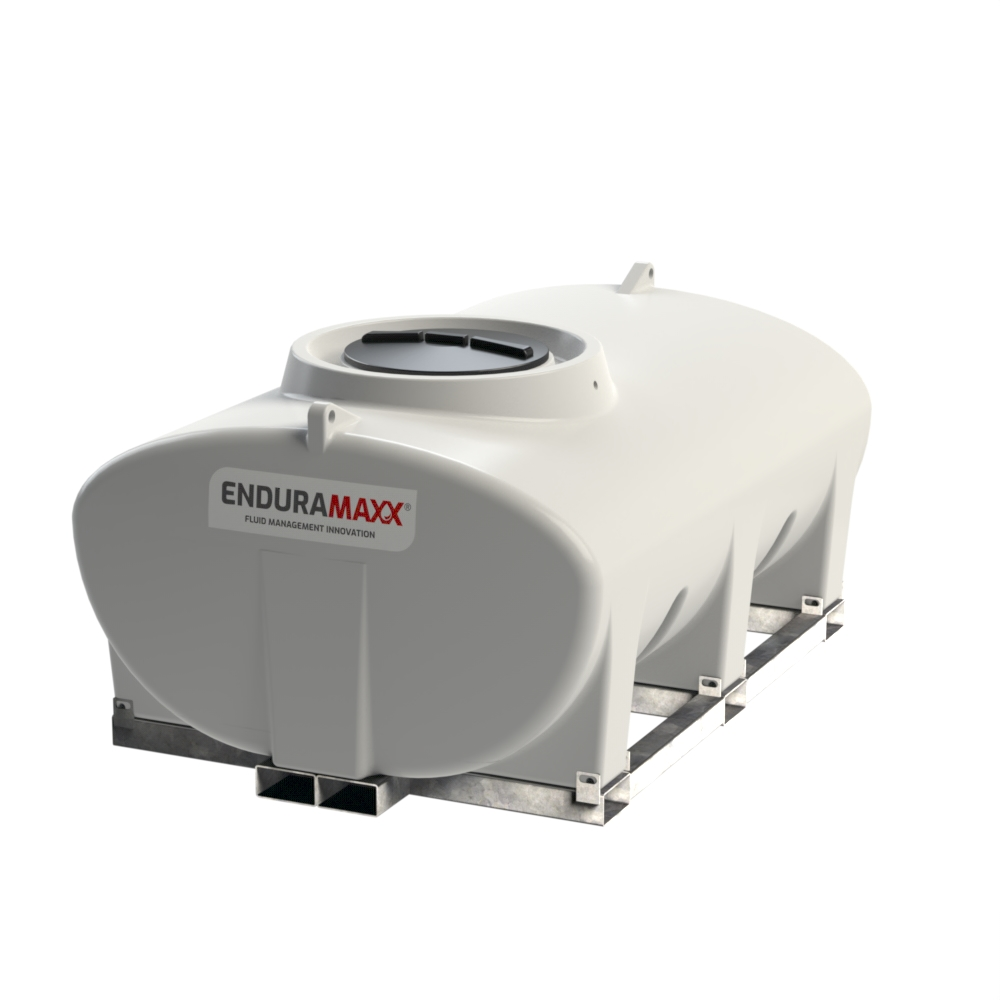 Enduramaxx 171030 3000 litre Horizontal Tank with frame -Natural
