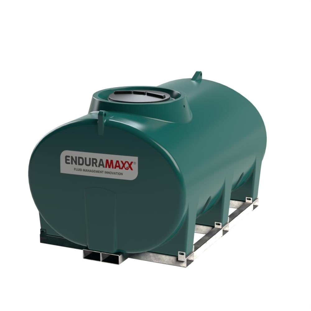 Enduramaxx 171035 4000 litre Horizontal Tank with frame - Green