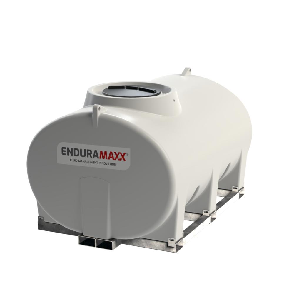 Enduramaxx 171035 4000 litre Horizontal Tank with frame - Natural