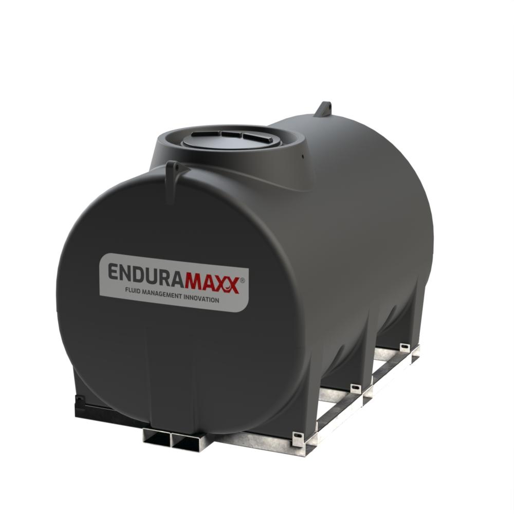 Enduramaxx 171037 5000 litre Horizontal Tank with frame - Black