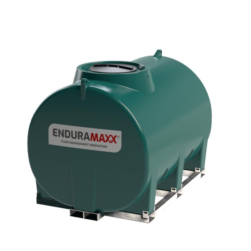 Enduramaxx 171037 5000 litre Horizontal Tank with frame - Green