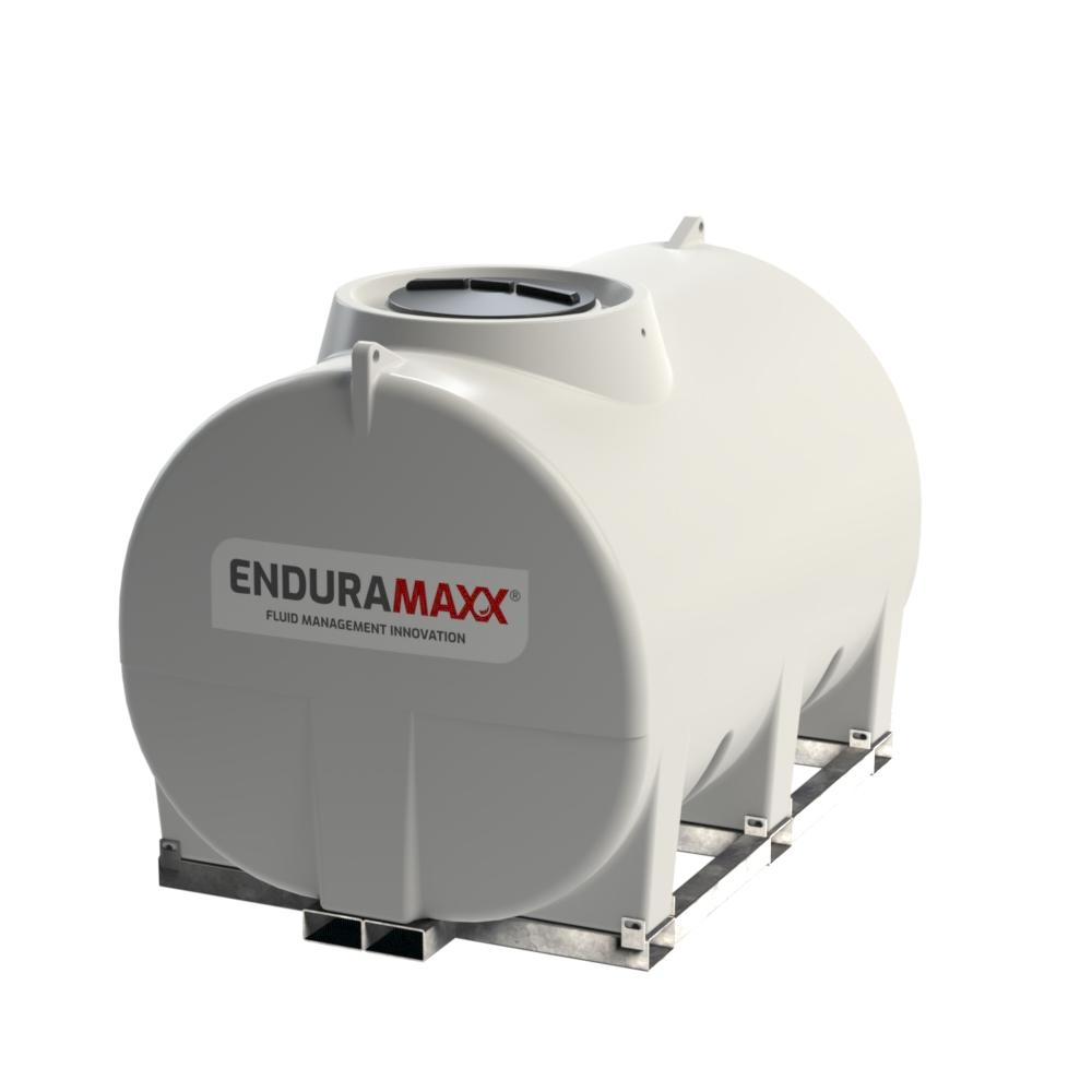 Enduramaxx 171037 5000 litre Horizontal Tank with frame - Natural