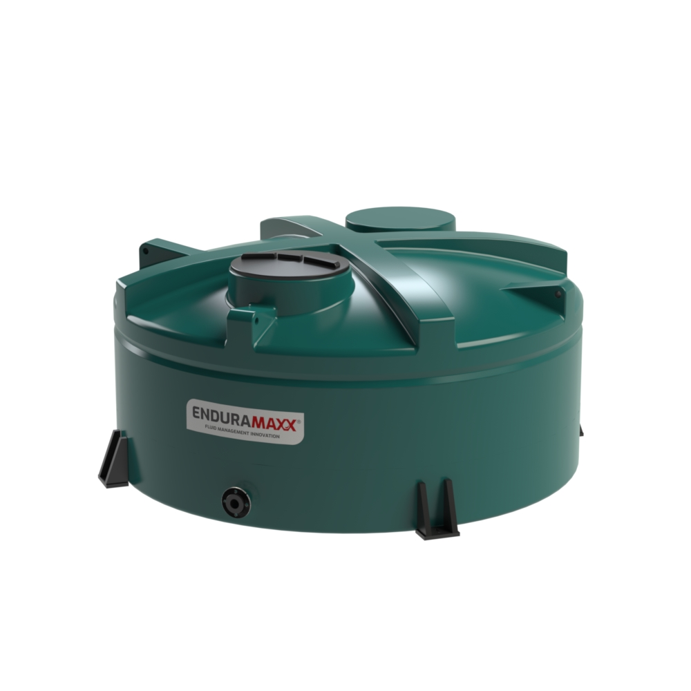 17220413 5,000 Litre Chemical Tank, Low Profile Green