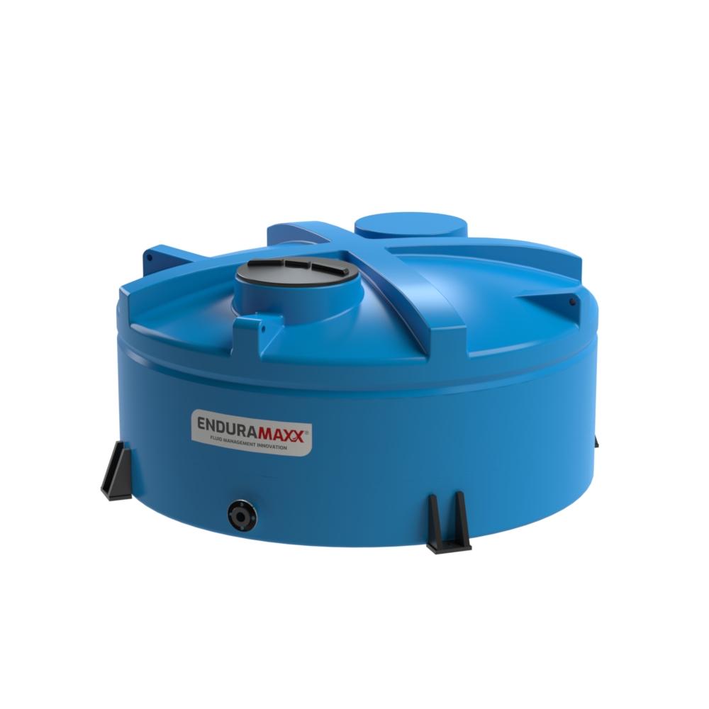 17220418 5,000 Litre Chemical Tank, Low Profile Blue