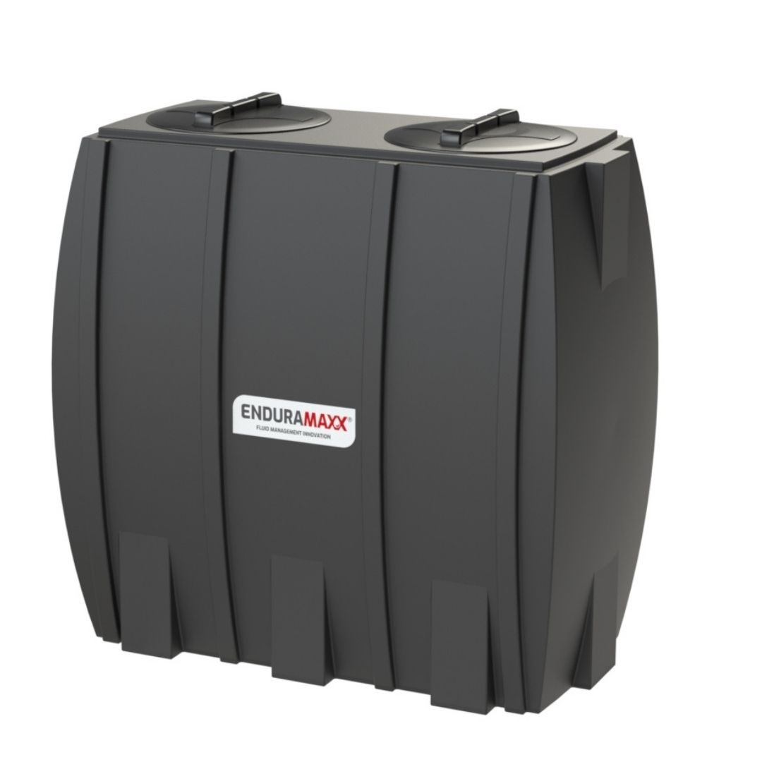 171312 1000 Litre Slimline Water Tank - 2 lids