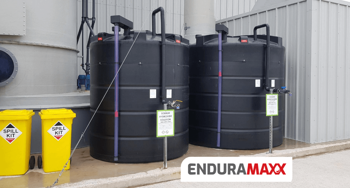 Chemical Storage Tanks with Secondary Containment