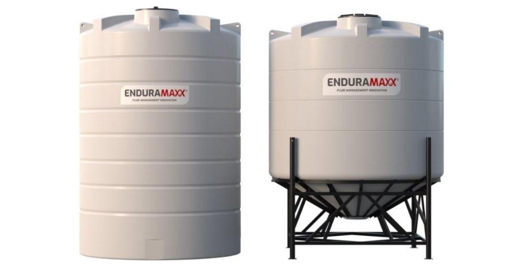 Enduramaxx Cone Bottom Tanks vs Flat Bottom Tanks