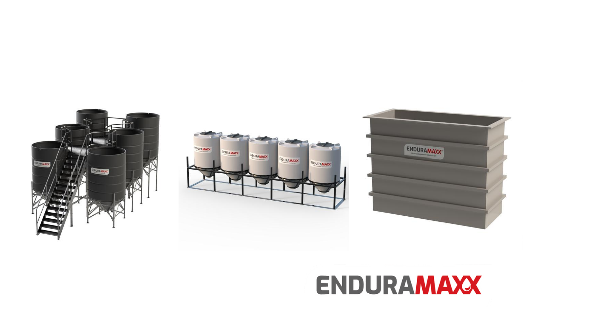 Enduramaxx Plastic storage tanks for industry
