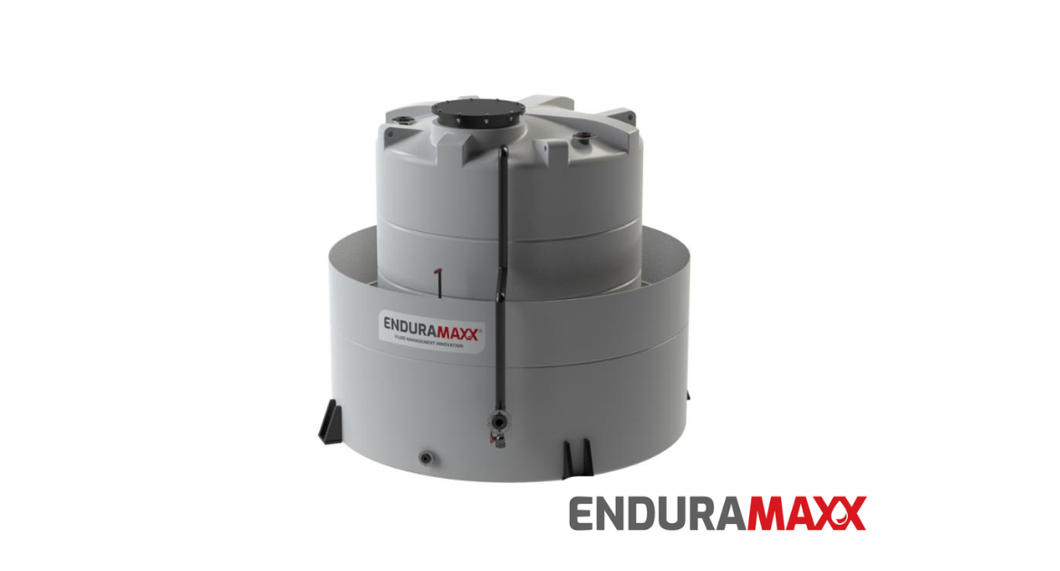 Enduramaxx bunded plastic tanks for chemical storage with secondary containement