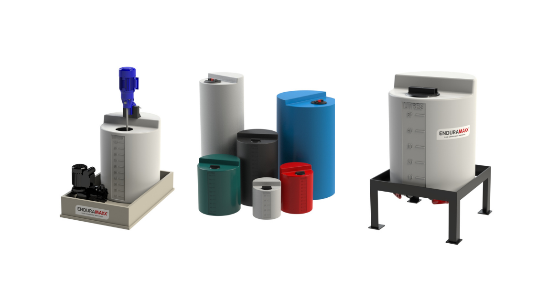 Enduramaxx-Correct Boiler Chemical Storage