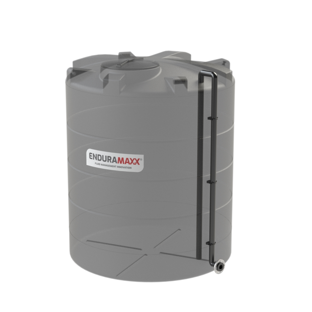 Tank Suction Pipe Terminating Low Level FLange 90 deg