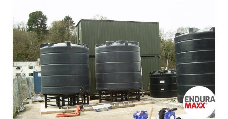 Enduramaxx Conical Settlement Tank UK Manufacturer