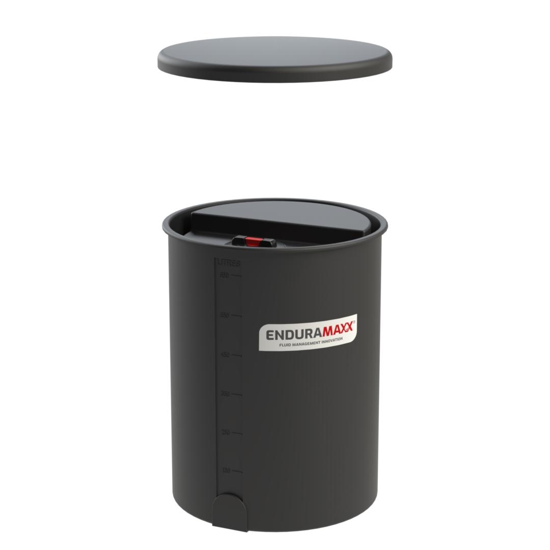 OTB50001-Slim-500-Litre-Open-Bunded-Chemical-Tank-Black