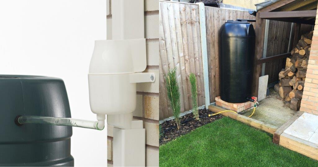 Enduramaxx Collecting Rainwater For Gardening Our Garden Water Tanks