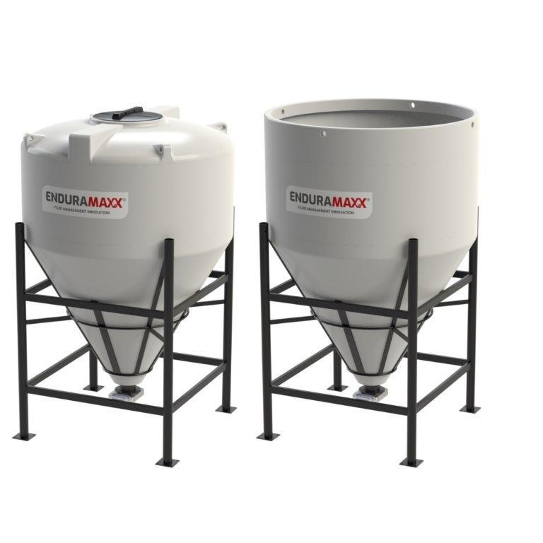 Enduramaxx Larval Hatchery & Rearing Tanks - Conical Base
