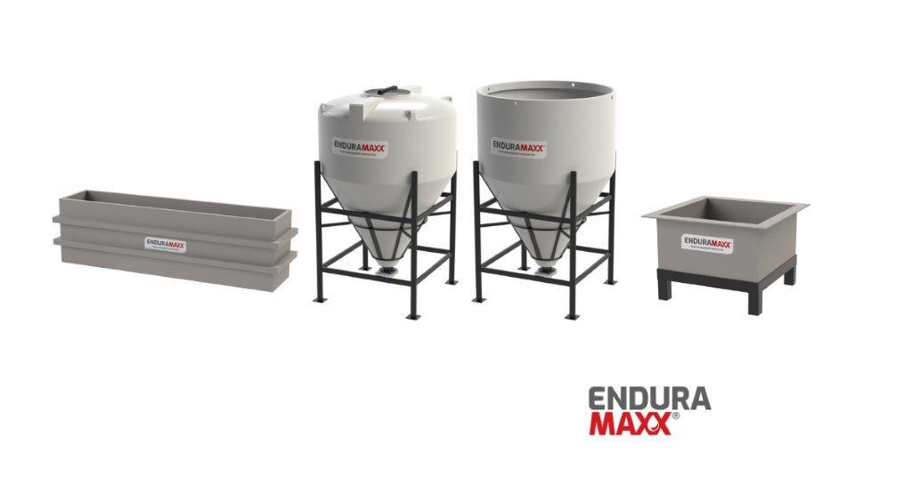 Enduramaxx Larval Production & Hatchery - Conical Tank Advantages
