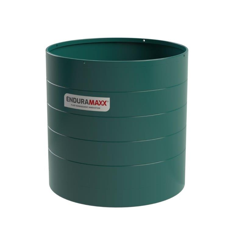 172029 15,000 Litre Open Top Tank - Green (1)