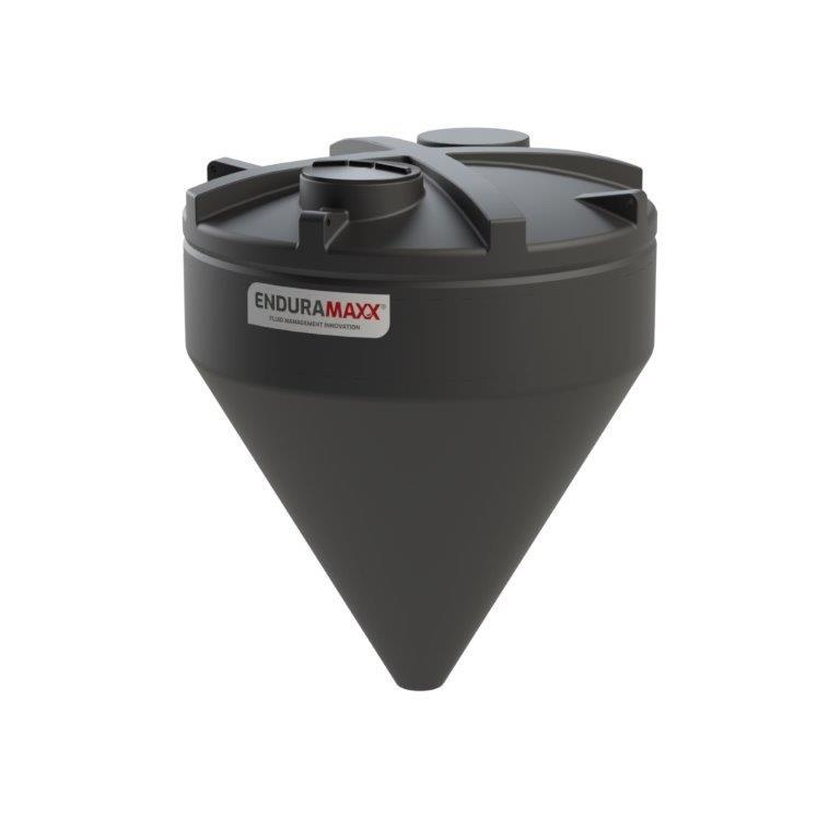17520466001 8000 Litre 60 Degree Cone Tank Black