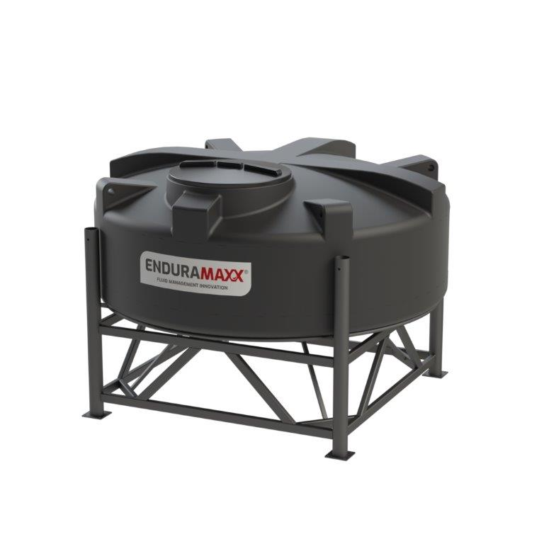 1752081501 2,200 Litre 15° Closed Top Cone Tank With Frame