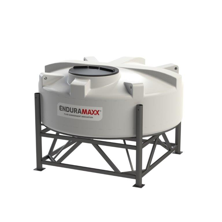 1752081502 2,200 Litre 15° Closed Top Cone Tank With Frame