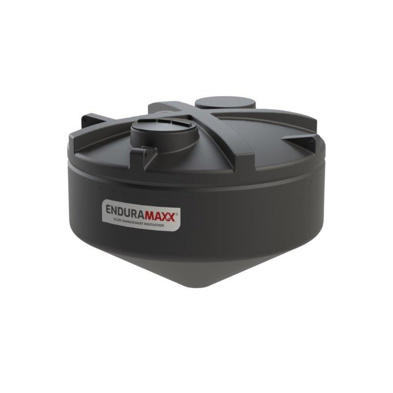 Enduramaxx 1752043001 6000 Litre 30 Degree Cone Tank - Black