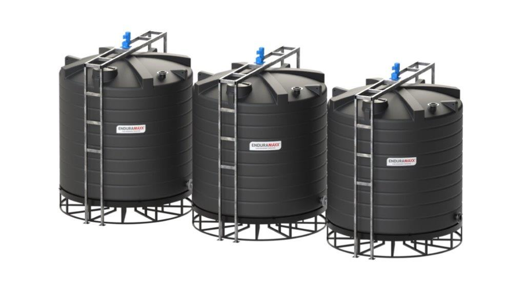 Enduramaxx Advantages of Conical Tanks for Effluent & Sludge for Wastewater Treatment