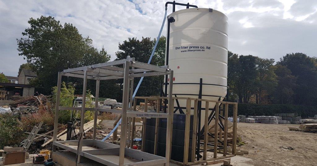 Enduramaxx Solids removal & separation tanks for screens & filter press