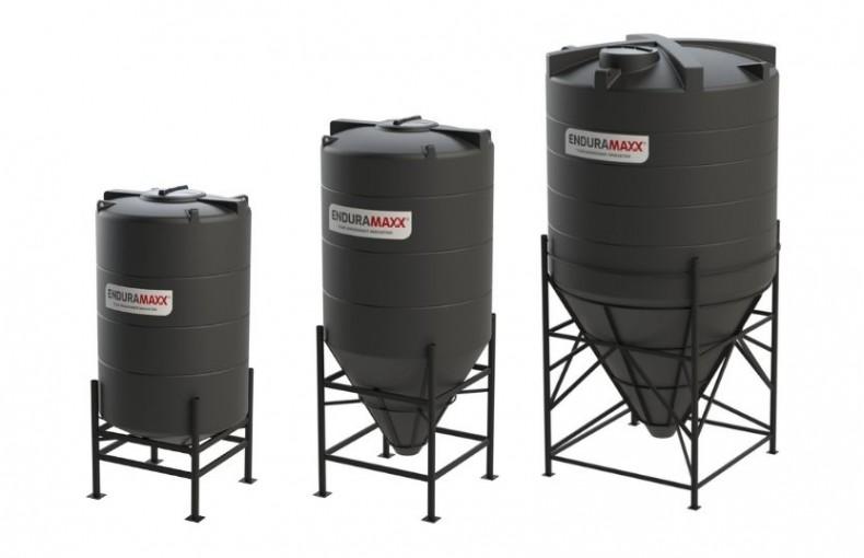Enduramaxx Conical Tanks for ph Balance Neutralization Systems