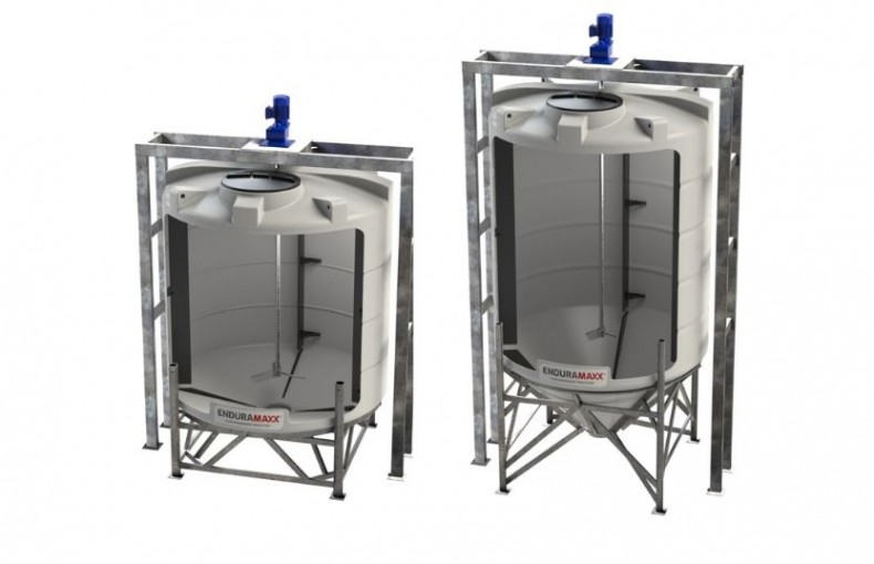 Enduramaxx Reaction vessels for wastewater flocculent mixing