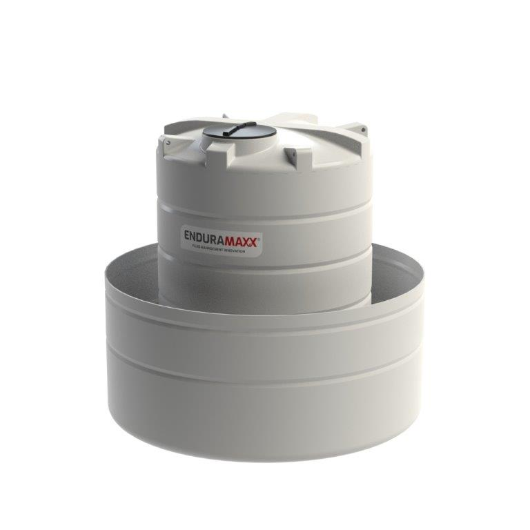 OTB6000 - 6,000 Litre Open Bund Chemical Tank - Natural