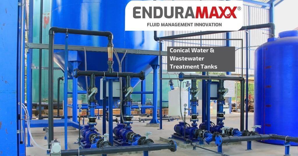Enduramaxx Conical Water & Wastewater Treatment Tanks
