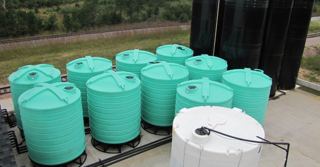 Enduramaxx Large Conical Cone Bottom Tanks