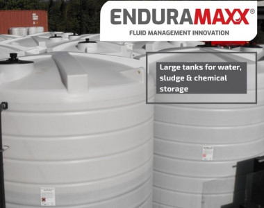 Enduramaxx Large tanks for rainwater, wastewater, sludge & chemical storage