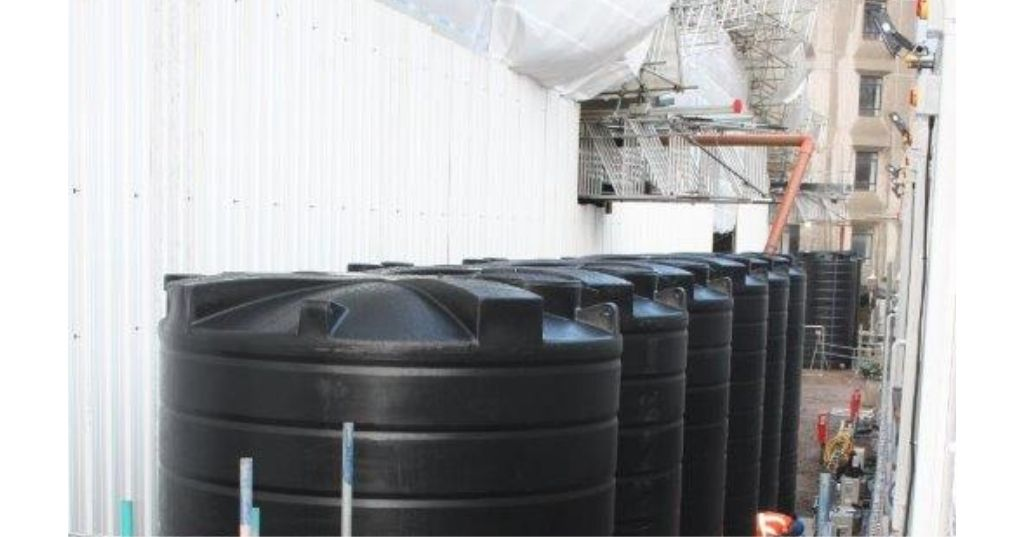 Enduramaxx Why are rainwater attenuation & flood relief tanks used on construction sites