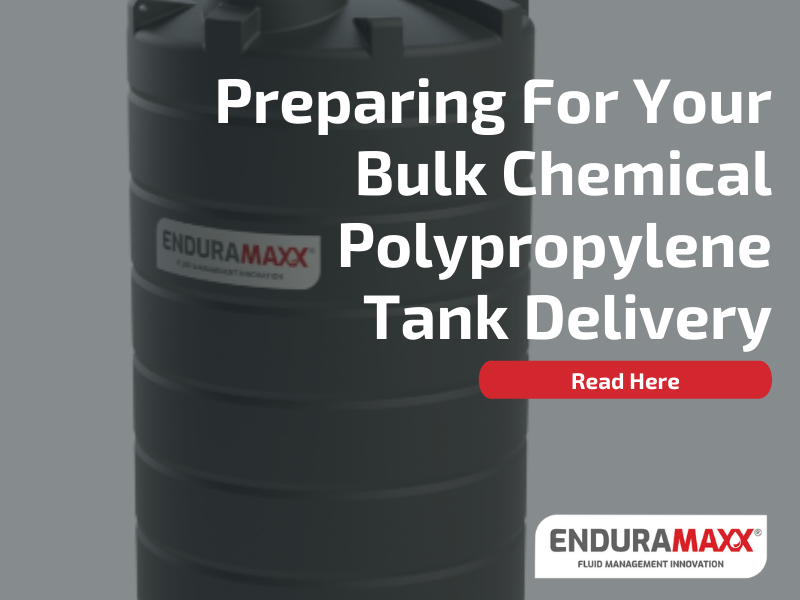 5 Benefits of Polypropylene Storage Tanks (PP) over Stainless Steel Tanks - Enduramaxx