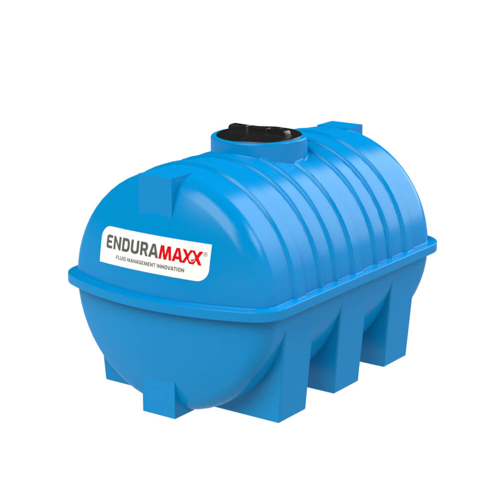 171220 2000 Litre Static Horizontal Water Tank Blue
