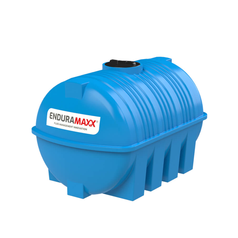 171230 3000 Litre Static Horizontal Water Tank Blue